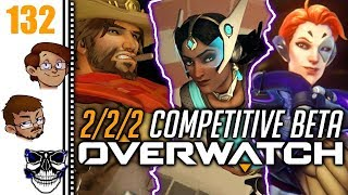 Let's Play Overwatch Part 132 - 2/2/2 Beta Competitive: I Can't Solo the Whole Team...Yet