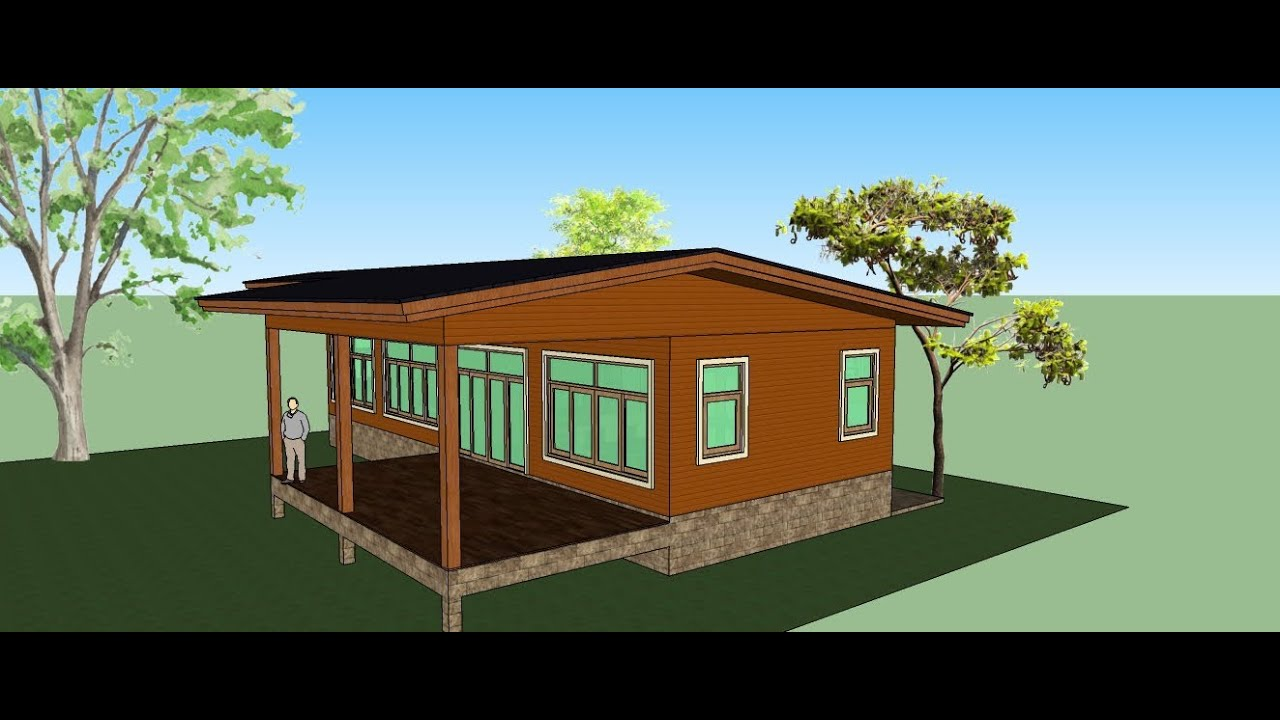 sketchup 2013 : make a small house in google sketchup 2013 (speed