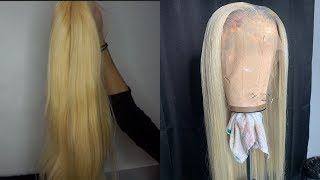 FROM YELLOW BLONDE TO ICY WHITE PLATINUM BLONDE FAIL | SUPERBWIGS