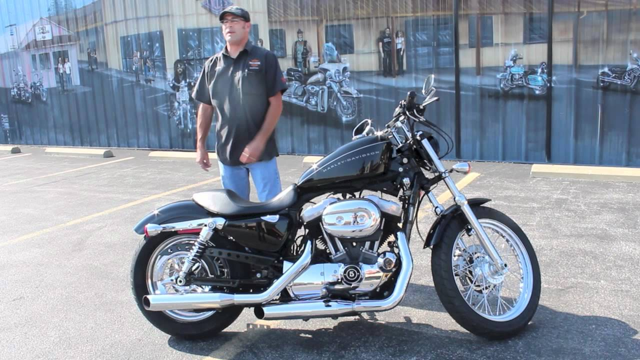 2008 Harley-Davidson Sportster 1200 NIghtster - YouTube