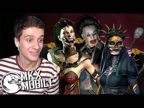 НЕПОБЕДИМАЯ КОМАНДА ОБНОВЛЕНИЯ 1.21 в Mortal Kombat X Mobile