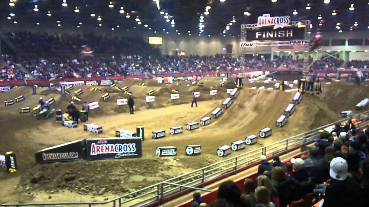 Arenacross Race At Livestock Event Center Reno Nv 2 18 12 Youtube