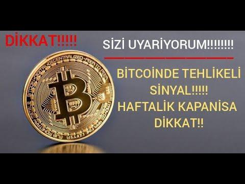BİTCOINDE TEHLIKELI SINYAL YA TAMAM YA DEVAM!! BTC VE ALTCOIN SON DAKIKA ACIL VIDEO! CRYPTO CURRENCY