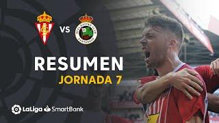 Resumen de Real Sporting vs Real Racing Club (1-1)