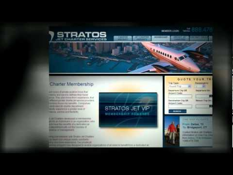 Private Jet Charter Service - Stratos Jet Charters