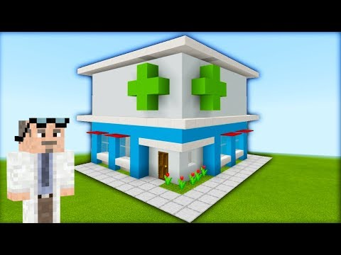 "Minecraft Tutorial: How To Make A Pharmacy Chemist ""2019 City Tutorial"""