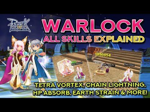 WARLOCK SKILLS DEMO + EXPLANATION | Ragnarok Mobile Eternal Love