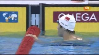 Yang Sun new world record 1500m. freestyle - World Championships Swimming Shanghai 2011