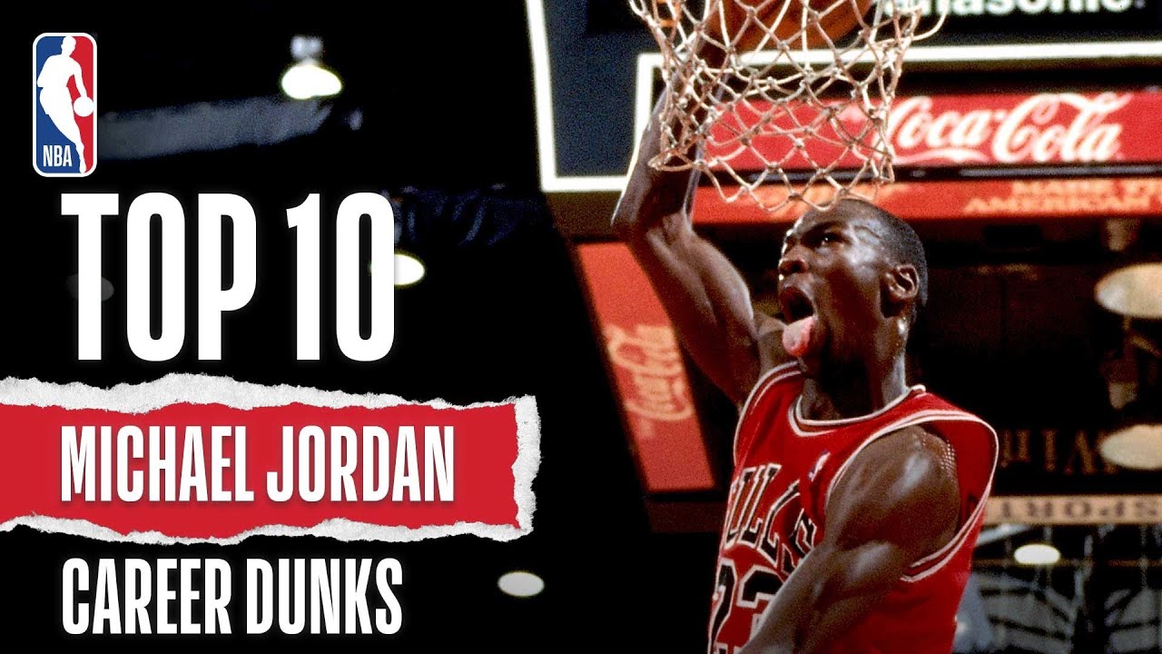 gorąca wyprzedaż buty temperamentu super jakość Michael Jordan's Top Career Dunks
