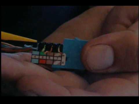 Leviton Cat5e Jack Wiring Diagram 2004 Gmc Canyon Radio Vs Kwik Youtube