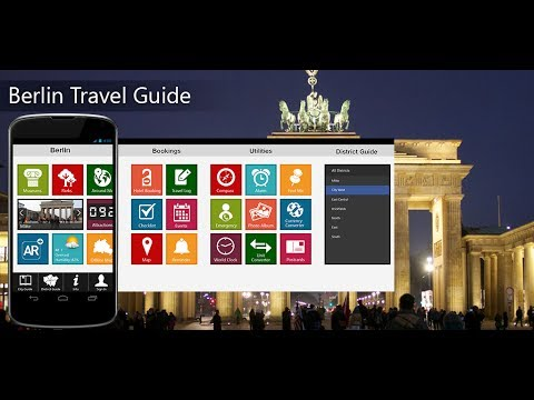 Berlin Travel Android App Promo - Pangea Guides