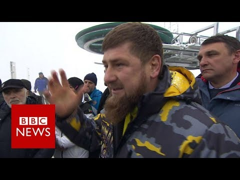 Chechen leader Ramzan Kadyrov questioned on 'gay purge' - BBC News