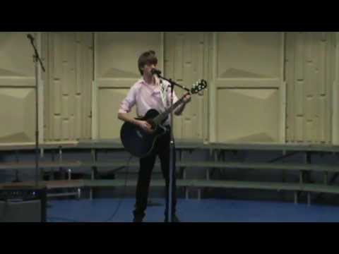 15 year old playing/singing beatles song