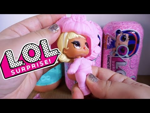 LOL SURPRISE DOLLS Underwraps Series Spy Dolls!