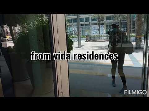 Vida Residences// Dubai Downtown Boulevard//Souk Al Bahar//Burj Khalifa🧡🧡👌