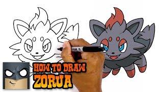 How to Draw Zorua   Pokemon (Art Tutorial)