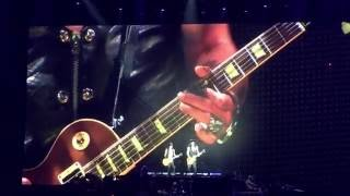 Guns N' Roses - Wish You Were Here Jam w/Slash and Fortus @ Dodger Stadium 8/18/16
