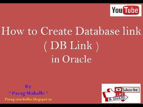 How to Create Database Link in Oracle  /* Step By Step /*