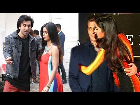 Katrina Leaves Ranbir Kapoor & HUGS Salman Khan
