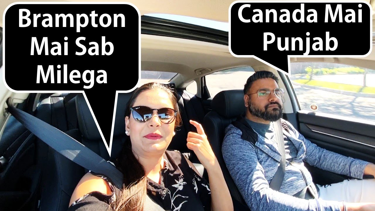 Why You Should Visit Brampton | Mini Punjab Of Canada | Curly Tales | Canada Couple Vlogs