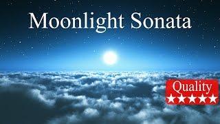 Piano Moonlight Sonata Full - Beethoven HD
