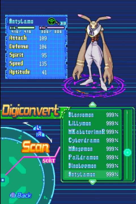 digimon world ds digivolve guide