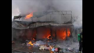 Пожар в Днепре на Пастера