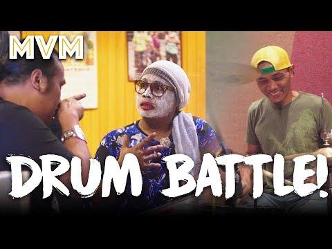 Drum Battle! Ujang VS Kak Nab Auntie Band!