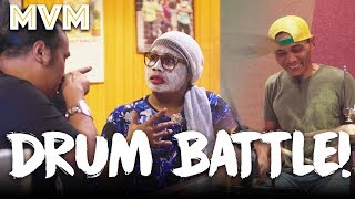 Video Drum Battle! Ujang VS Kak Nab Auntie Band! download MP3, 3GP, MP4, WEBM, AVI, FLV Juli 2018
