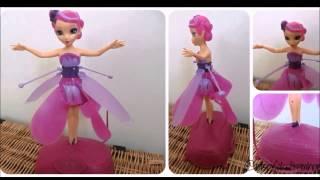 Лучший подарок дочке 8 лет - Flying Fairy(Самый лучший подарок дочке 8 лет - Flying Fairy или летающая фея. Посмотрите на видео, как эта кукла умеет летать...., 2014-07-25T03:30:28.000Z)