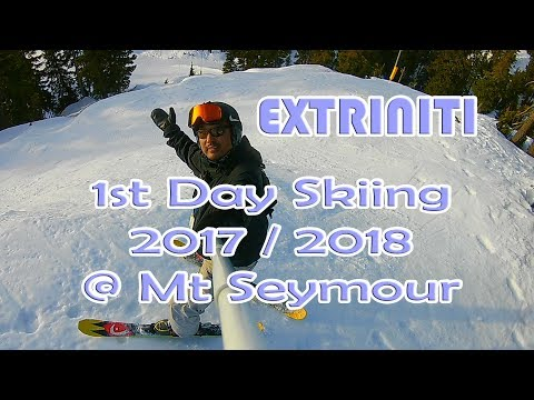 Extriniti 1ST Day Skiing 2017 / 2018 Season (HEAD 93 ETHAN TOO E2 141CM Park & Pipe Skis)