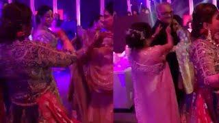 Sridevi : Last dance of Sridevi with Boney Kapoor in Dubai, Watch   Oneindia News
