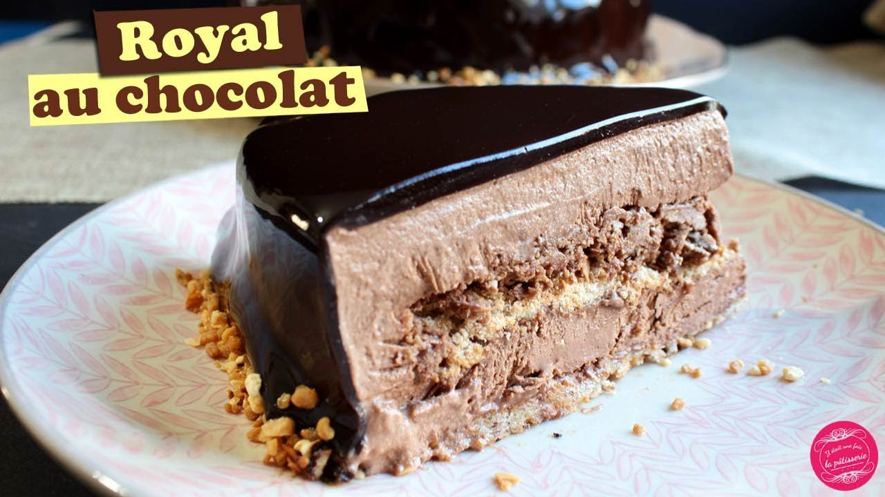 Idee Gateau Patissier Royal Chocolate Cake Or Trianon Divine Recipe