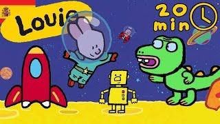 Dibujos animados para niños - Louie dibujame lo fantástico | Compilación HD