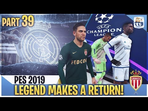 [TTB] PES 2019 - LEGEND RETURNS WITH NEW GAMEPLAY FILE! - Real Madrid ML #39 (Realistic Mods)
