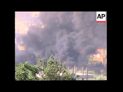WRAP Fighting restarts in refugee camp, heavy shelling; ADDS more shots