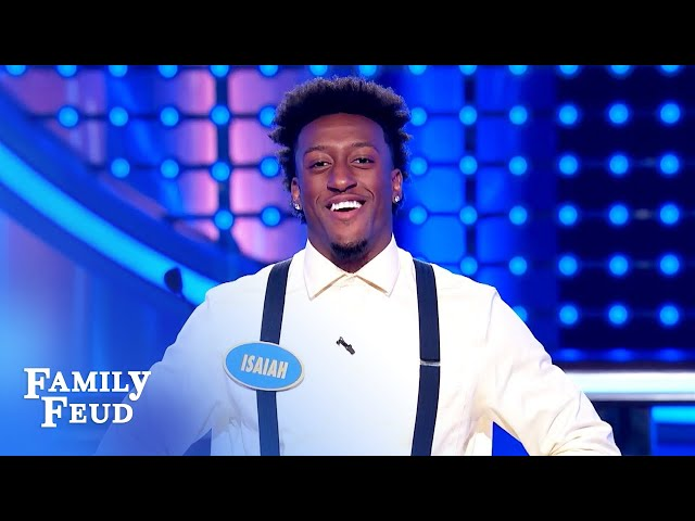 WOW! The Denards get every #1 answer! | Family Feud