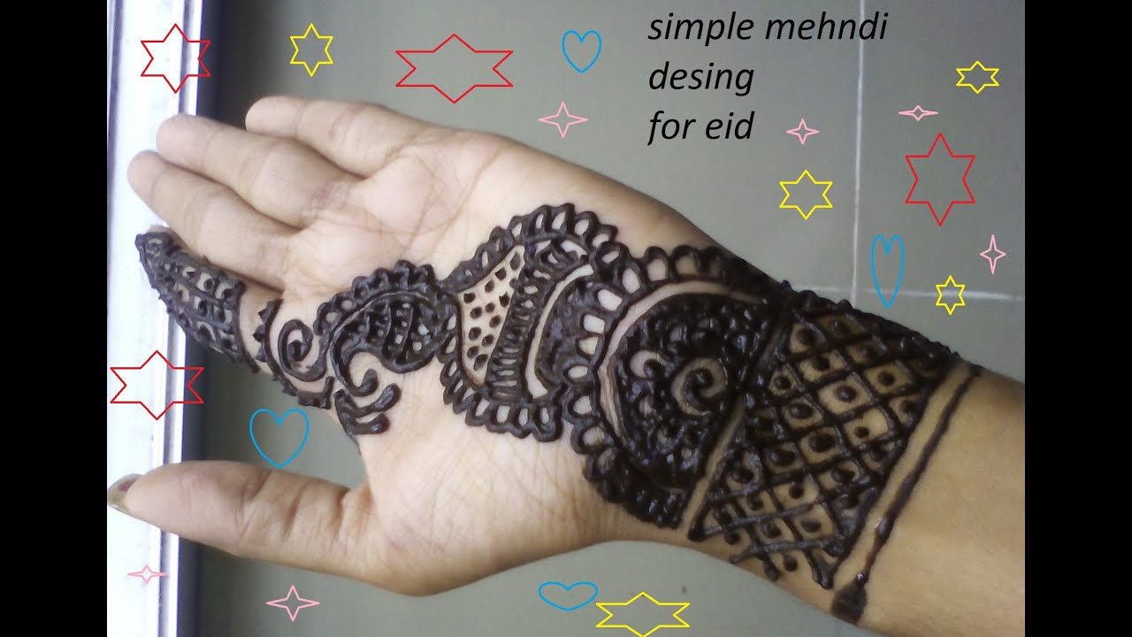 Mehndi design 2017 for small hands - Simple Design Easy Mehndi Designs For Hands Easy Hena Art 2016 Simple Design Desiigner Hena 2