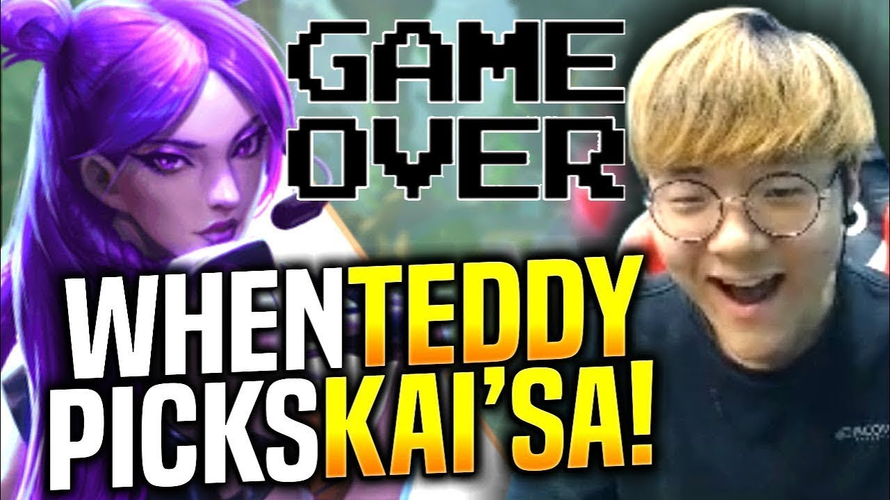 When TEDDY Picks REAL ADC it's OVER! - When SKT T1 Teddy Picks Kai'sa ADC! | SKT T1 Replays