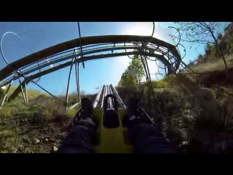 Kurdistan-Iraq Roller Coaster Pank Resort Rawanduz POV GoPro