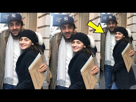 Ranbir Kapoor and Alia Bhatt looking lovely hugging after their ENGAGEMENT in NewYork Mp3