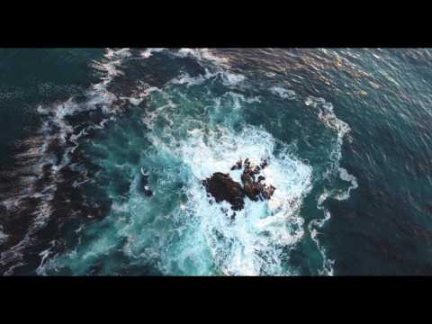 Beautiful Point Vicente lighthouse - 4k aerial footage