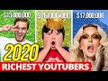 Gambar cover TOP 10 RICHEST YOUTUBERS IN 2020