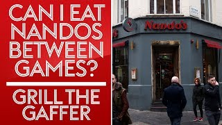 Can I have a Nandos before the game? | Neal Ardley | Grill The Gaffer