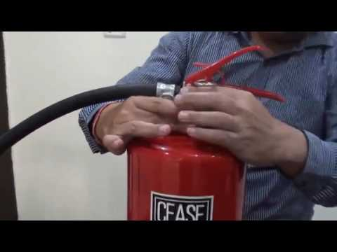 Foam Cartridge Fire Extinguisher