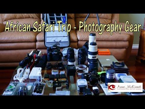 Photography Gear for African Safari