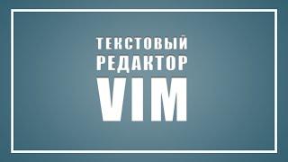Hexlet Webinar #3: редактор VIM