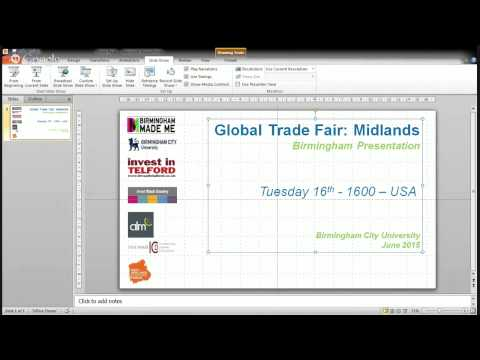 Global Trade Fair Birmingham Tuesday Part 2