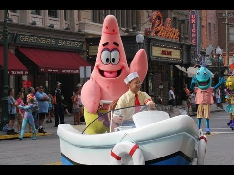 HD - Full Universal's Florida Newest Superstar Parade -Despicable Me, SpongeBob Squarepants