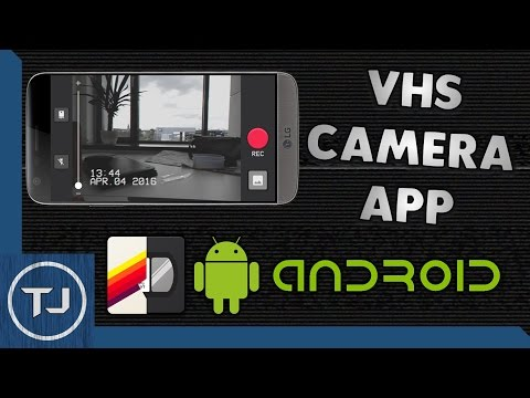 BEST FREE! VHS Camera App For Android 2017!